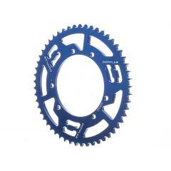 Couronne aluminium Doppler 428 - 53 dents bleu Sherco Enduro et SM