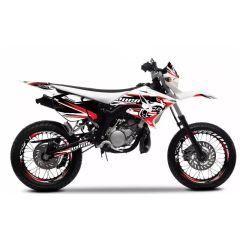 Kit déco Voca Racing Yamaha DT50 et MBK X-Limit de 2004 à 2010