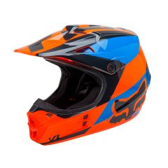 Casque cross Fox V1 Mako Orange taille L