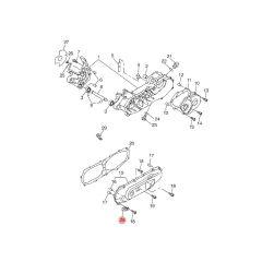 Guide câble de frein arrière MBK Booster