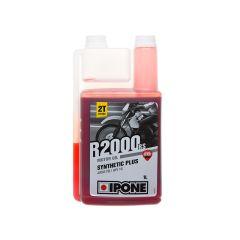 Huile moteur Ipone 2T R2000 RS semi-synthese senteur fraise 1L