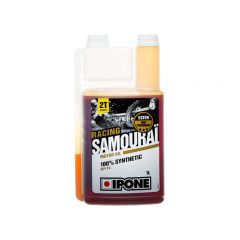 Huile moteur Ipone 2T Samouraï 100% synthese 1L