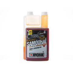 Huile moteur Ipone 2T Samouraï 100% synthese senteur fraise 1L