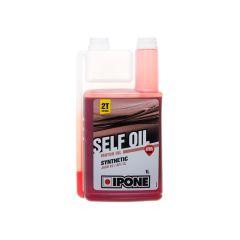 Huile moteur Ipone 2T Self Oil synthetic senteur fraise 1L