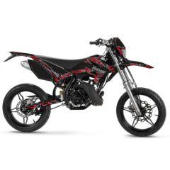 Kit déco Kutvek Beta RR après 2012 Predator Noir et Rouge