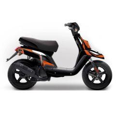 Kit déco Kutvek MBK Booster et Yamaha BW's Factory Orange