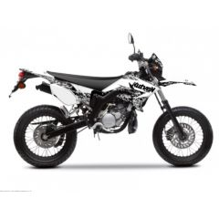 Kit déco Kutvek Yamaha DT50 Predator Blanc