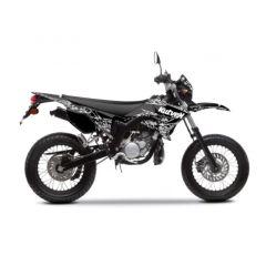 Kit déco Kutvek Yamaha DT50 Predator Noir
