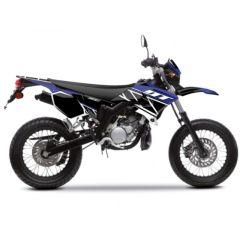 Kit déco Kutvek Yamaha DT50 Replica Bleu