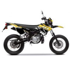 Kit déco Kutvek Yamaha DT50 Replica Jaune