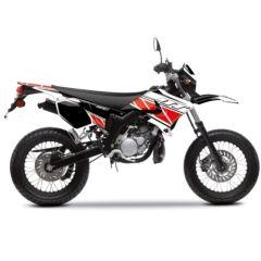 Kit déco Kutvek Yamaha DT50 Replica Rouge