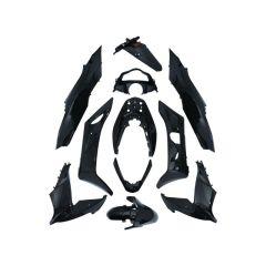 Kit carénage 11 pièces Honda PCX 14-16 noir brillant