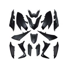 Kit carénage 15 pièces noir mat Yamaha T-Max 530 2017 - 2019