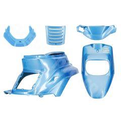 Kit carénage bleu hawai 5 pièces MBK Booster avant 2004