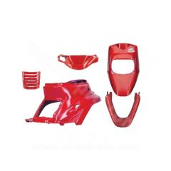 Kit carénage rouge 5 pièces MBK Booster avant 2004