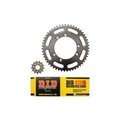 Kit chaine 420 13x50 DID Beta 50 2002-2004