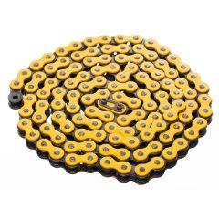 Chaine KMC jaune 120 maillons 415