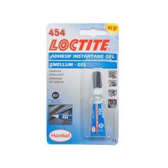 Colle super glue gel Loctite 454 5gr