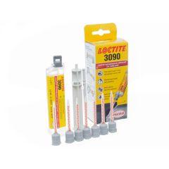 Colle bi-composants Loctite 3090 avec rattrapage de jeu jusqu'à 5mm