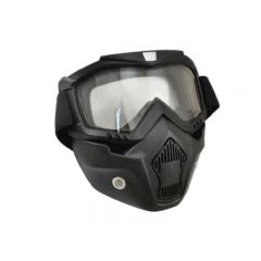 Masque casque jet Trendy T-101 Dark Knight noir mat