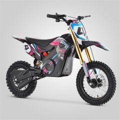 Pit Bike minicross enfant Apollo RFZ Rocket 1000W rose 2020 électrique