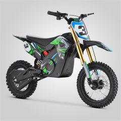 Pit Bike minicross enfant Apollo RFZ Rocket 1000W vert 2020 électrique