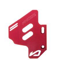 Protection de maître cylindre Most rouge mécaboite