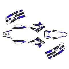 Kit déco Most Derbi X-treme à partir de 2011 Bleu