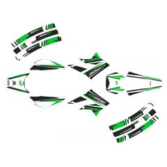 Kit déco Most Derbi X-treme à partir de 2011 Vert