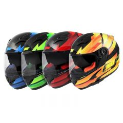 Casque intégral Noend race by Ocd double visiere