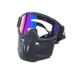 Masque casque Jet NoEnd Brako écran iridium