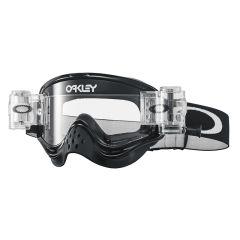 Masque Cross Oakley O Frame MX Race-Ready Roll-Off Jet Black