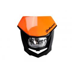 Tête de fourche Polisport HALO Orange homologué