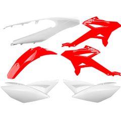 Kit carénage Watts Beta RR après 2012 rouge et blanc