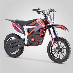 Pocket Bike cross Apollo Falcon 500W rouge électrique version 2020 pour enfant