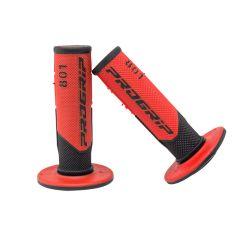 Poignée Progrip type 801-Rouge-Noir