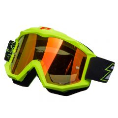 Masque cross Progrip 3204 Jaune Fluo