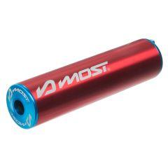 Silencieux d'échappement Most 50 / 70cc rouge et bleu