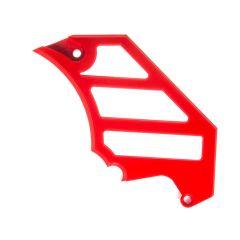 Cache pignon 3D ScootFast Minarelli AM6 Rouge