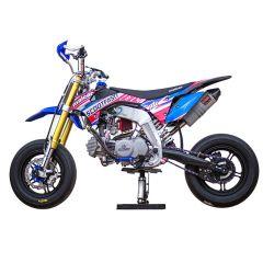 Kit déco Scootfast 2020 Pit Bike Malcor MX rouge et bleu