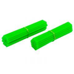 Couvre rayon Spoke Skins vert fluorescent