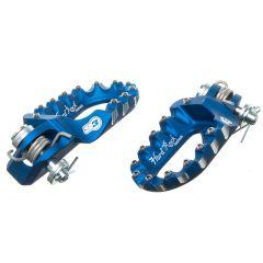 Repose pieds repliable S3 Rieju MRT bleu