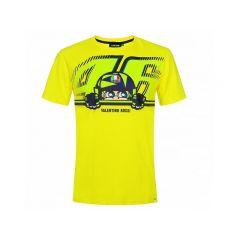 T-Shirt VR46 Cupolino jaune