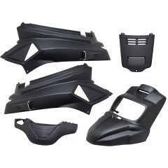 Kit carénage Tunr New Design MBK Booster après 2004 noir mat