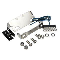 Support plaque d'immatriculation avec éclairage Voca MBK Machg - Yamaha Jog R