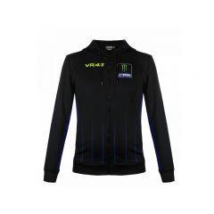 Veste zippée VR46 x Yamaha black