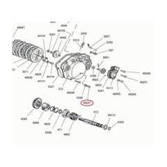 Vis niveau d'huile carter embrayage Minarelli aM6