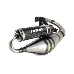 Pot d'échappement Voca Sabotage V2 MBK Booster carbone