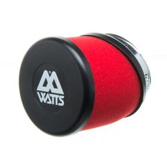 Filtre à air Watts rouge 49 mm