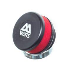 Filtre à air Watts court mousse rouge 49mm